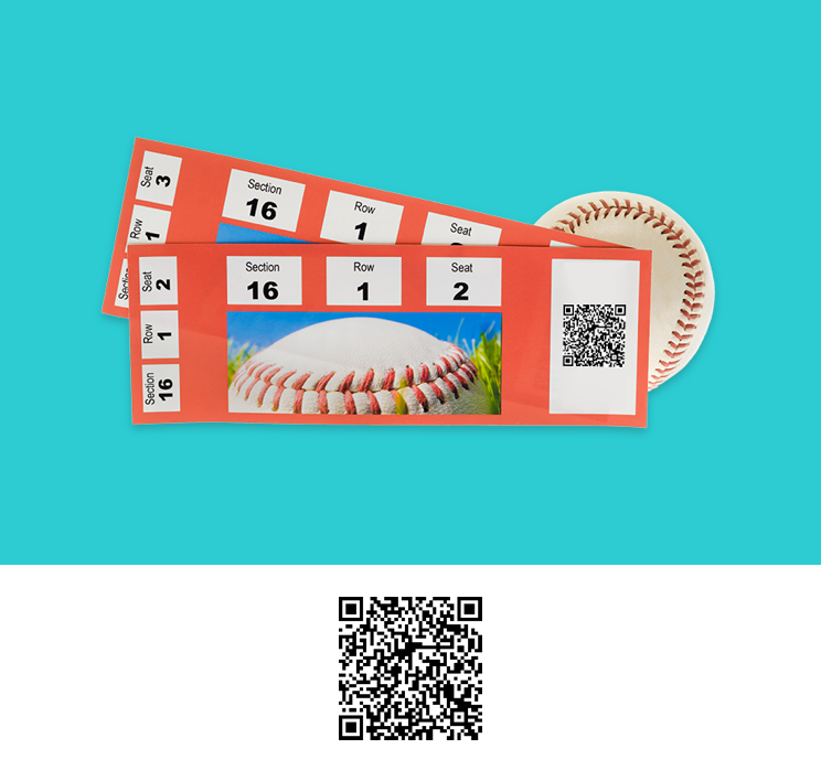 QR code for event