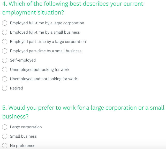 question for those who aren't a small business owner