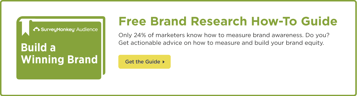 Get the Free Brand Research How-To Guide from SurveyMonkey!