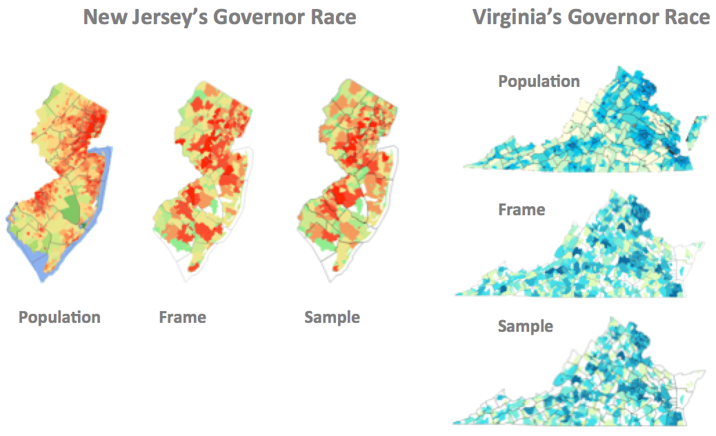 Variables from New Jersey and Virginia governor races